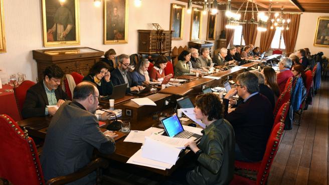 Reunión del Consello de Goberno de la USC