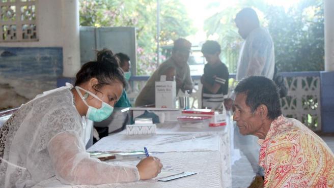 Samoa comienza la campaña de vacunación contra el sarampión.