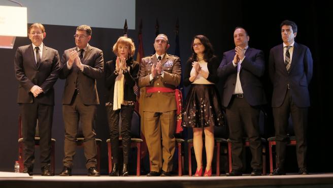 Autoridades valencianas wn Alicante