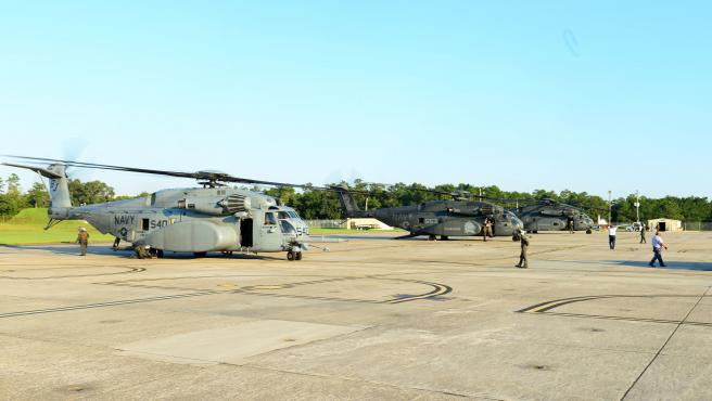 Base naval de Pensacola, en Florida.