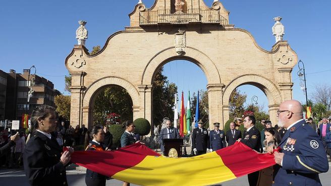 Celebración del 41 aniversario de la Constitución en Antequera.