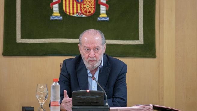 El presidente de la Diputación de Sevilla y de la Federación Andaluza de Municipios y Provincias (FAMP), Fernando Rodríguez Villalobos.