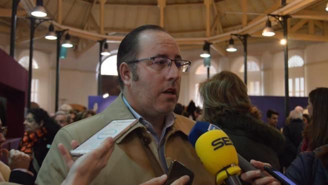 El segundo teniente de alcalde de Oviedo, Mario Arias (PP)