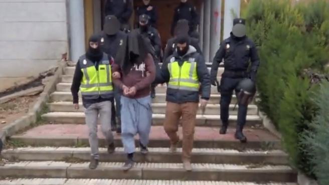 Imagen del detenido en Guadalajara acusado de pertenecer a Daesh