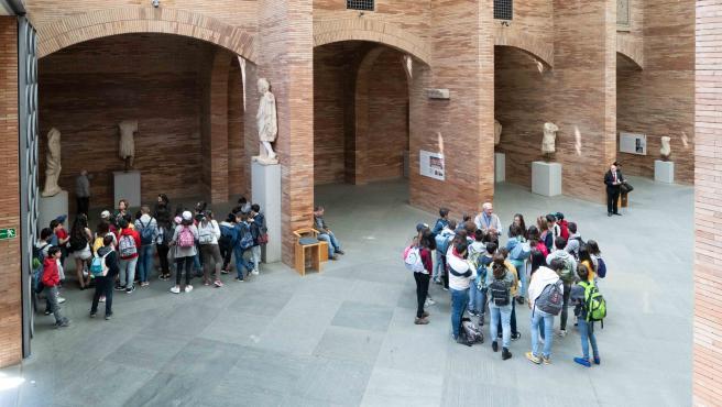 Interior del Museo Nacional de Arte Romano de Mérida