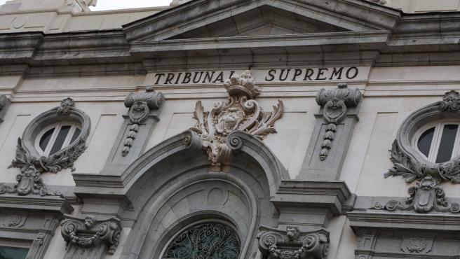 La fachada del edificio del Tribunal Supremo, en Madrid.