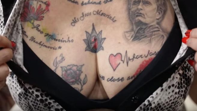 Tatuajes de Mourinho