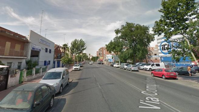 Imagen de la vía Complutense de Alcalá de Henares.