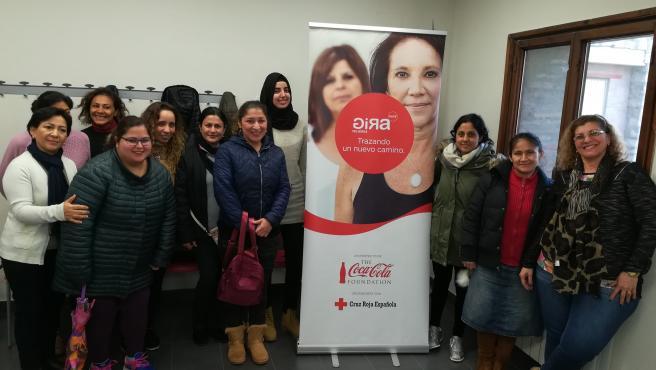Participantes en 'GIRA Mujeres' en Navarra en 2018