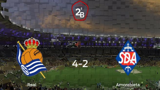 Real Sociedad B - Amorebieta: Resultado, resumen y goles en ...