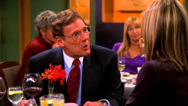 Imagen del actor Rob Leibman interpretando al doctor Green en 'Friends'.