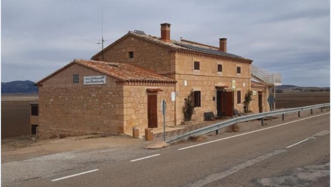 Centro de interpretación de la Laguna de Gallocanta.