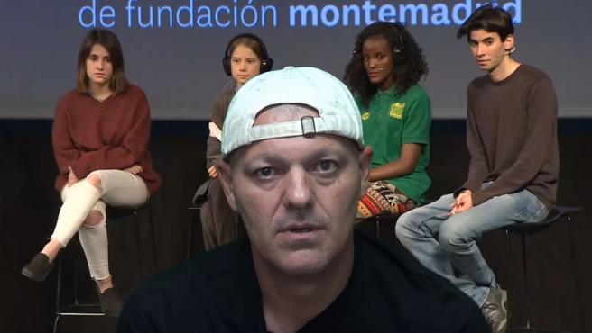 Frank Cuesta, en el vídeo donde critica al movimiento Fridays for Future y a Greta Thunberg.