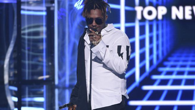 El rapero Juice Wrld, en los pasados Billboard Music Awards el 1 de mayo en Las Vegas.