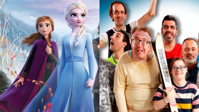 Frozen 2 y Campeones