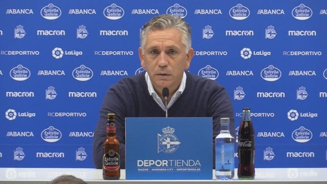 El presidente del Deportivo de la Coruña Paco Zas.