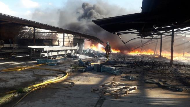 Incendio Santa Margalida