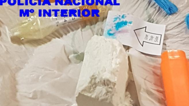 Los agentes se han incautado de más de 100 gramos de cocaína en el marco de la operación