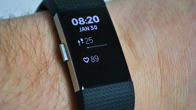 Pulsera Fitbit.