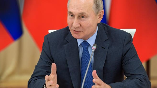 Putin working trip to Nalchik