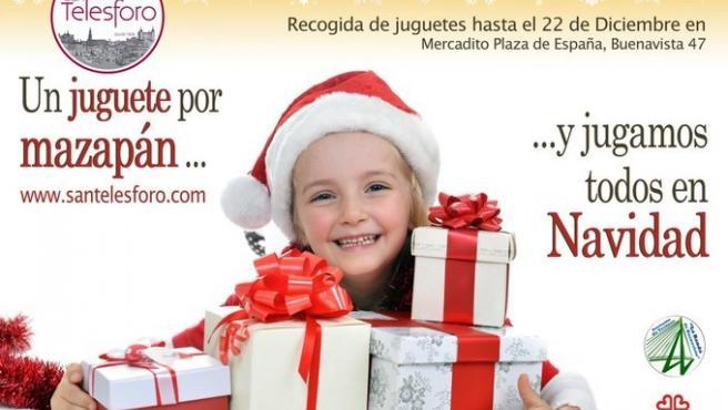 Campaña 'Un juguete por mazapán' de San Telesforo