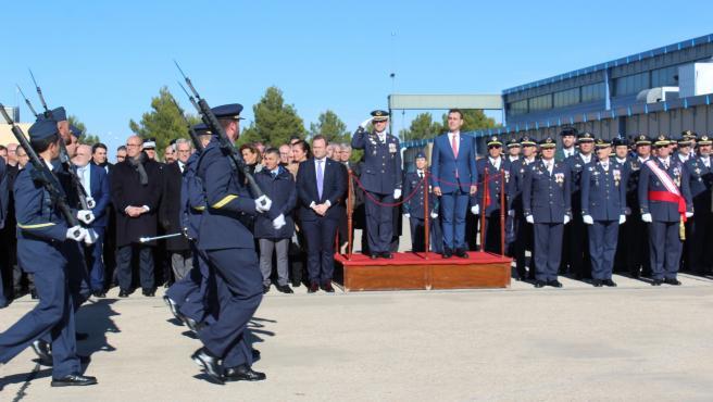 La Base Aérea de Los Llanos celebra los actos conmemorativas de la Patrona del Ejército del Aire, la Virgen de Loreto