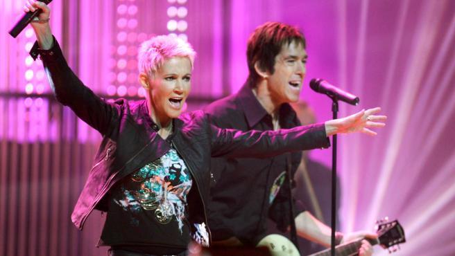 El dúo sueco Roxette, en una imagen de 2006.