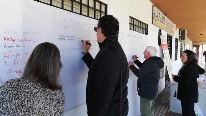 Se trata de 'Churros Contigo', una iniciativa de New Health Foundation dentro del proyecto 'Sevilla Contigo, Ciudad Compasiva'.