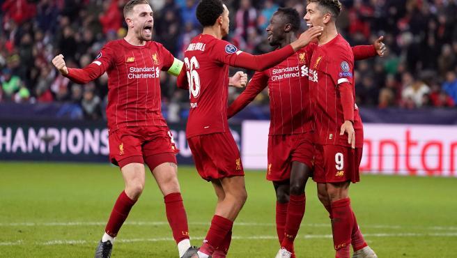 UEFA Champions League - Red Bull Salzburg vs Liverpool