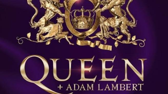 Cartel de la actuación de Queen en Madrid