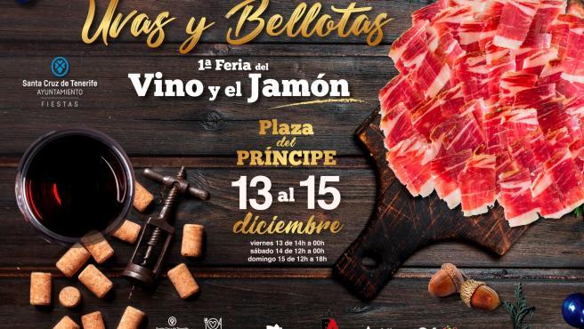 Cartel de 'Uvas y Bellotas'