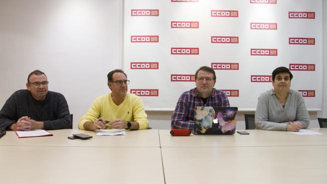 CCOO reclama la reclasificación del personal de ayuda a domicilio de la Administración Local.