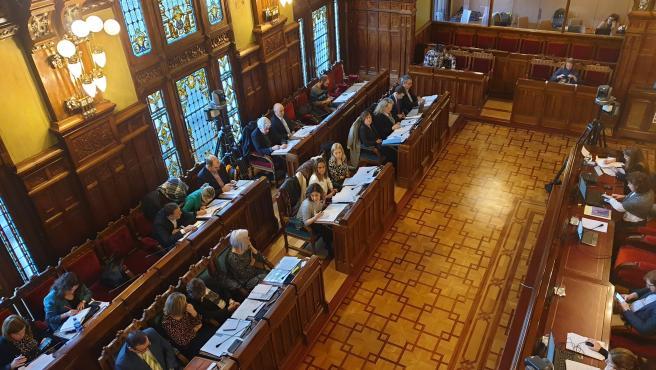 Comparecencia en la Junta General para presentar los presupuestos de la Consejería de Presidencia para 2020