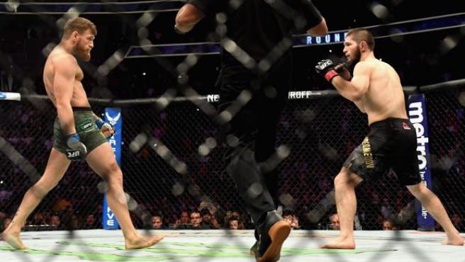 Connor McGregor contra Khabib Nurmagomedov
