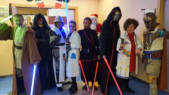 La Guerra de las Galaxias llega al hospital de Valme