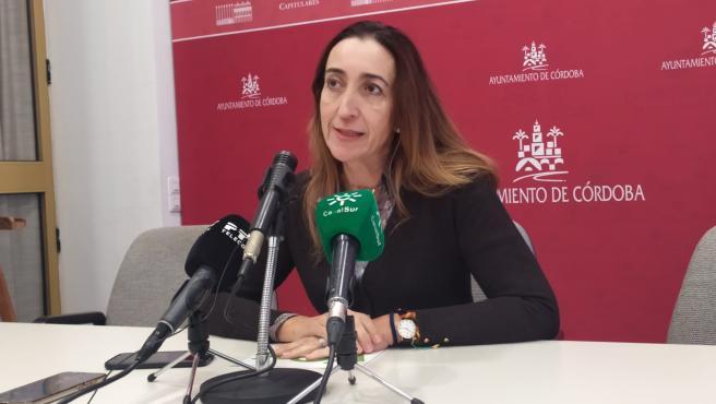 La portavoz de Vox en el Ayuntamiento de Córdoba, Paula Badanelli, en una imagen de archivo