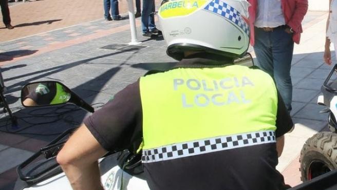 Policía Local de Marbella agenda poli moto