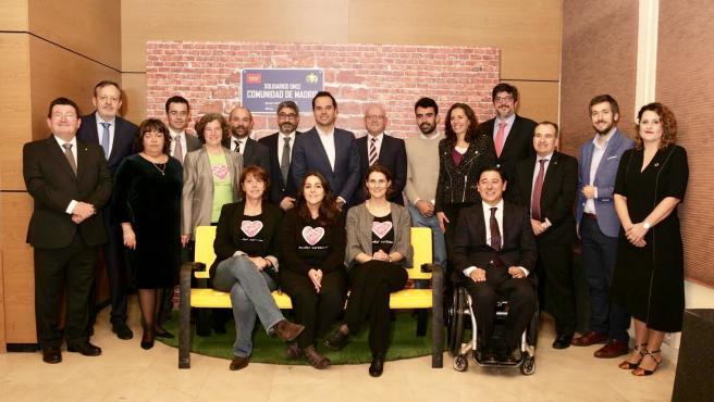 Ganadores de los Premios Solidarios de la ONCE.