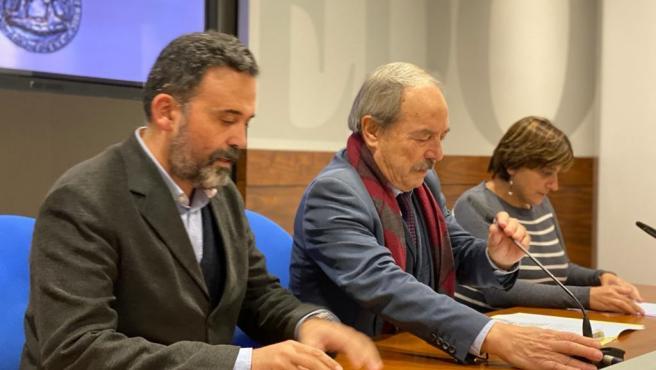 Ricado Fernández, Wenceslao López y Ana Rivas.