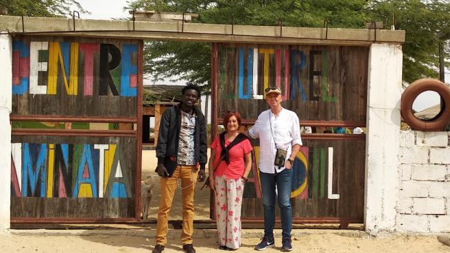 Visita de una delegación del Ayuntamiento de Bilbao a los proyectos que impulsa en Senegal