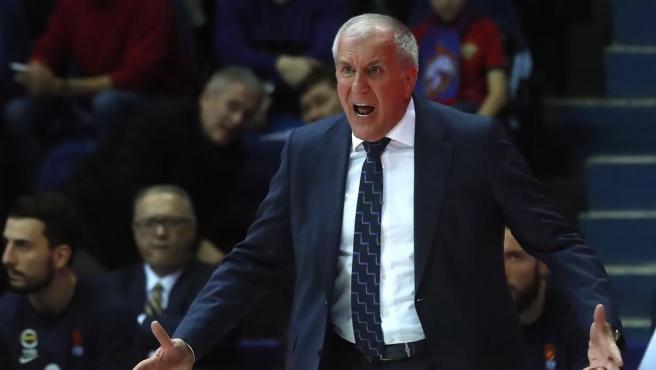Zeljko Obradovic, entrenador de baloncesto.