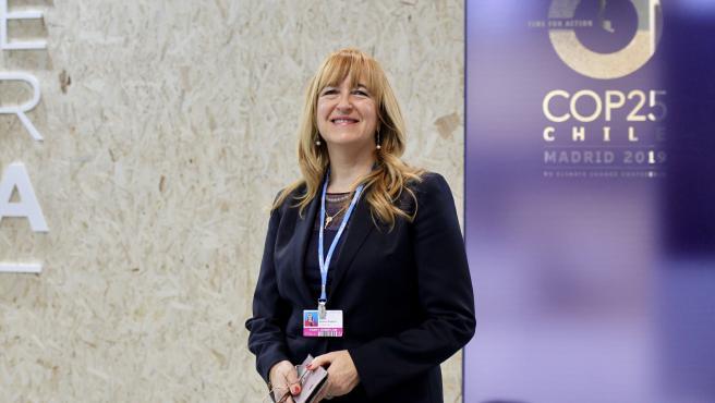 Blanca Moreno-Dodson. Directora del Centro por la Integración del Mediterráneo