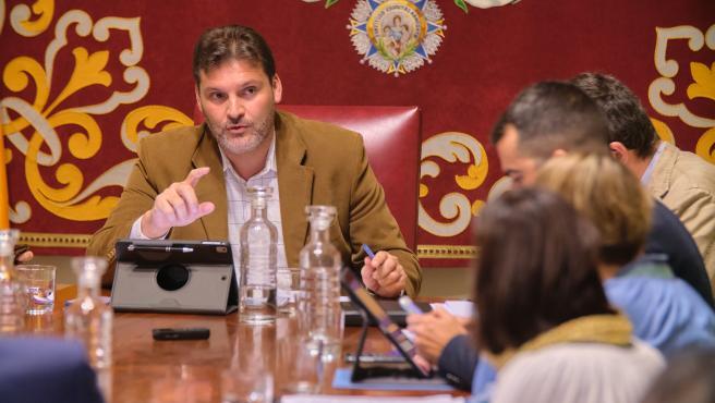 Concejal de Servicios Públicos del Ayuntamiento de Santa Cruz de Tenerife, José Ángel Martín