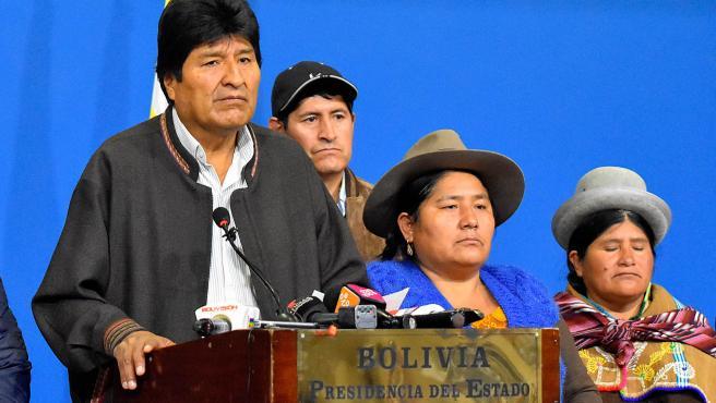 Evo Morales, en una foto de archivo.