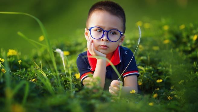 La miopía progesa rápidamente durante la infancia, sobre todo entre los 8 y los 2 años.
