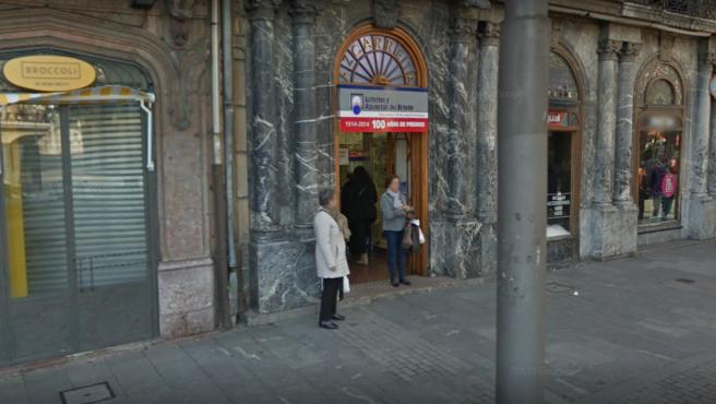 Administración de Loterías de Bilbao.