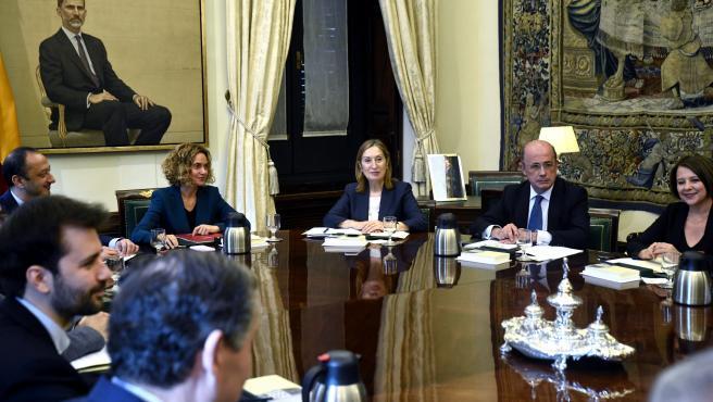 La Mesa del Congreso, en su primera reunión