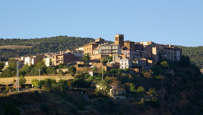 Vista del pueblo de Talarn, en Lleida.