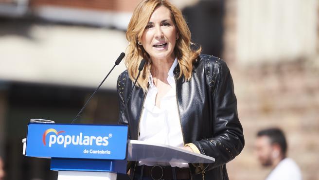 20190330- Torrelavega Mitin partido Popular Pablo Casado Ana Beltran FOTO: JUAN MANUEL SERRANO ARCE