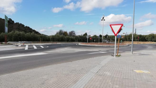 Carretera A-3130 en Nueva Carteya